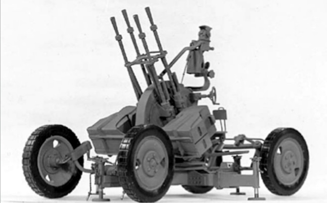 Anti-aircraft Gun North Korea The Zpu-4 Anti-aircraft Gun