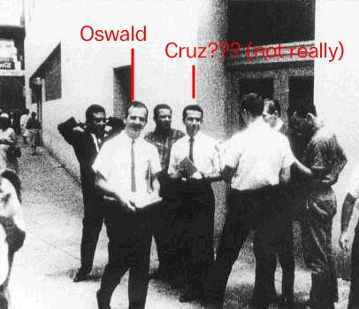 Donald Trump defends linking Ted Cruz's father to Lee Harvey Oswald