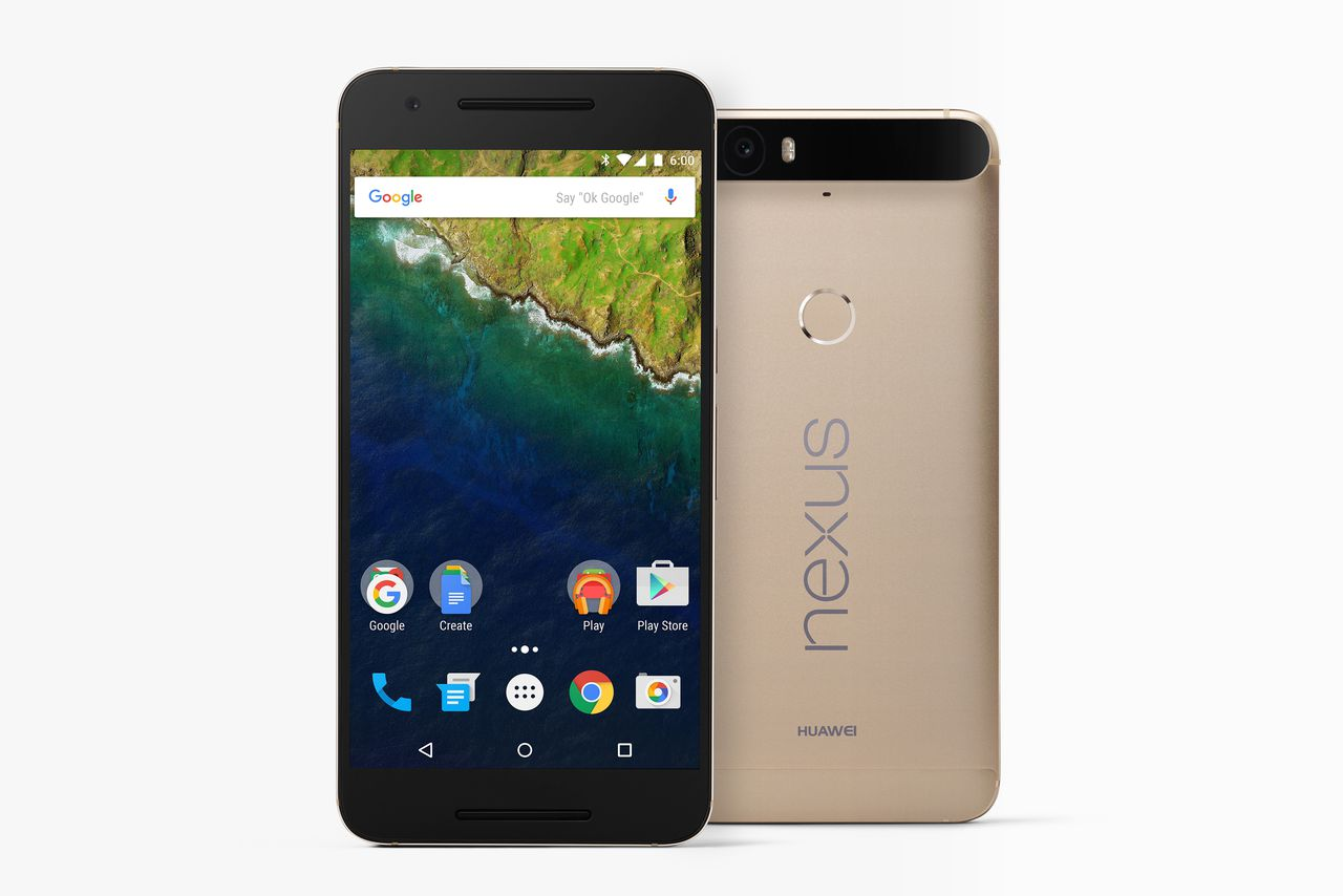 Special Edition Gold Nexus 6P Released in the US