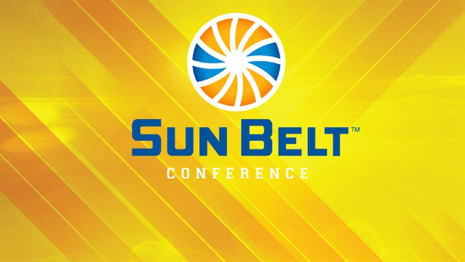 heres the sun belt conferences new logo sbnationcom