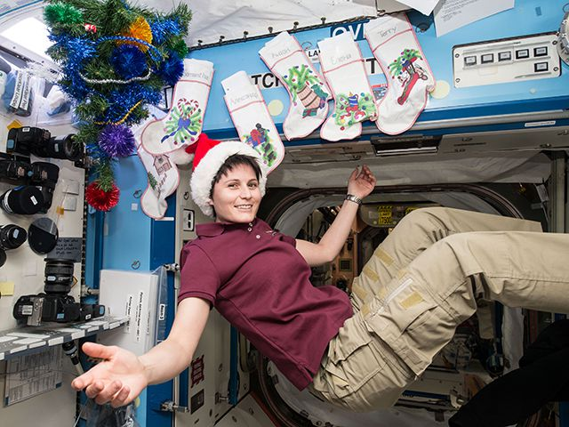 iss christmas