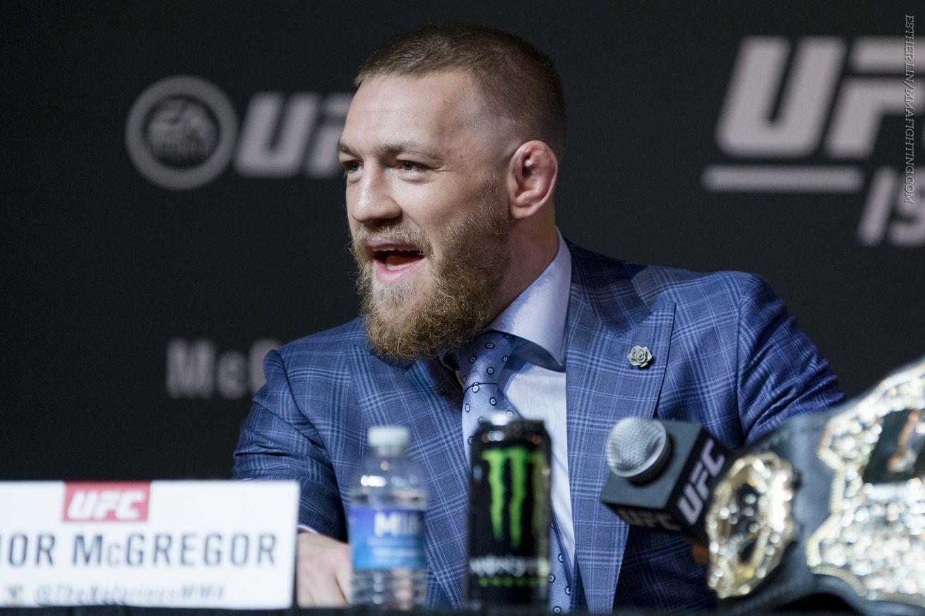 Conor McGregor says relationship with Dana White, Lorenzo Fertitta is improved after meeting