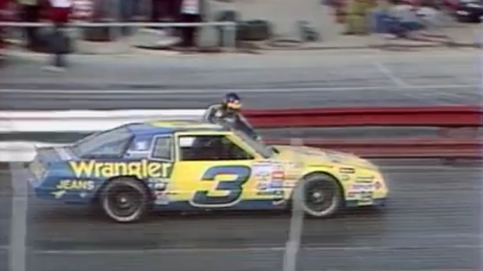 Mark Miller Toyota >> Dale Earnhardt once tried to clean his windshield by sitting out of his window mid-race ...