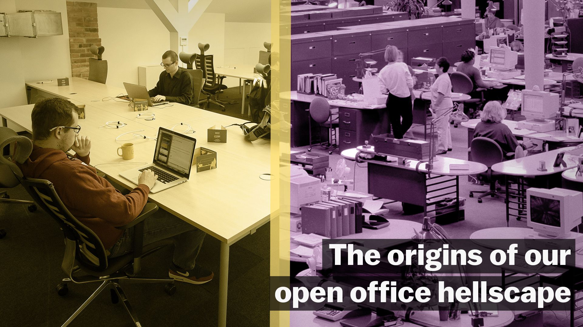 the origins of our open office hellscape vox