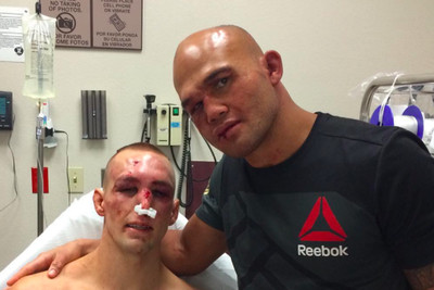 community news, Robbie Lawler looks back on hospital meeting with Rory MacDonald