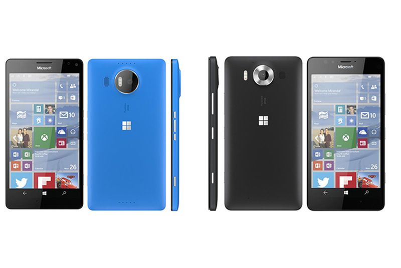 Leaked images reveal Microsoft's new flagship Lumia phones