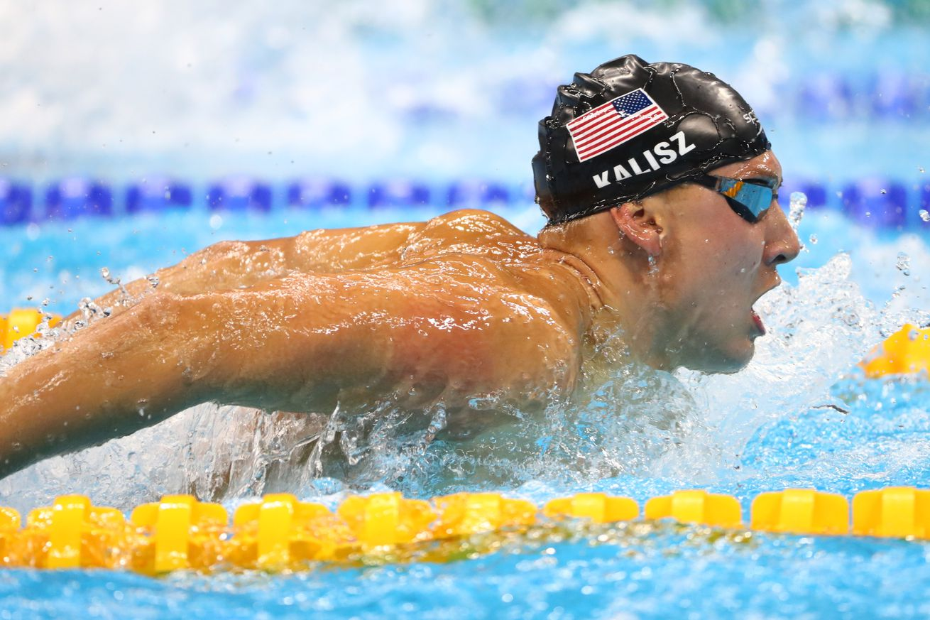 Swimming - Hagino wins men's 400m individual medley gold