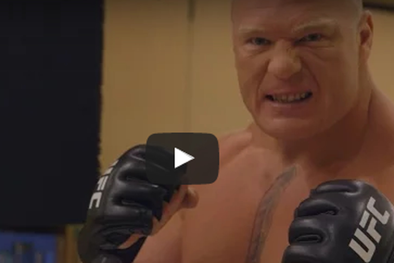UFC 200 Embedded video, Ep. 3: Brock Lesnar offers to spoon Miesha Tate