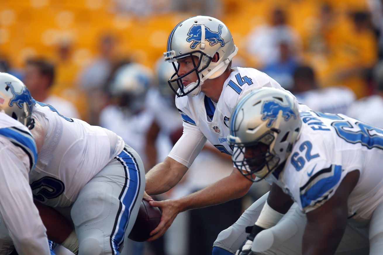 NFL Preseason Week 1 Pick 8/12/16 - Detroit Lions vs. Pittsburgh Steelers
