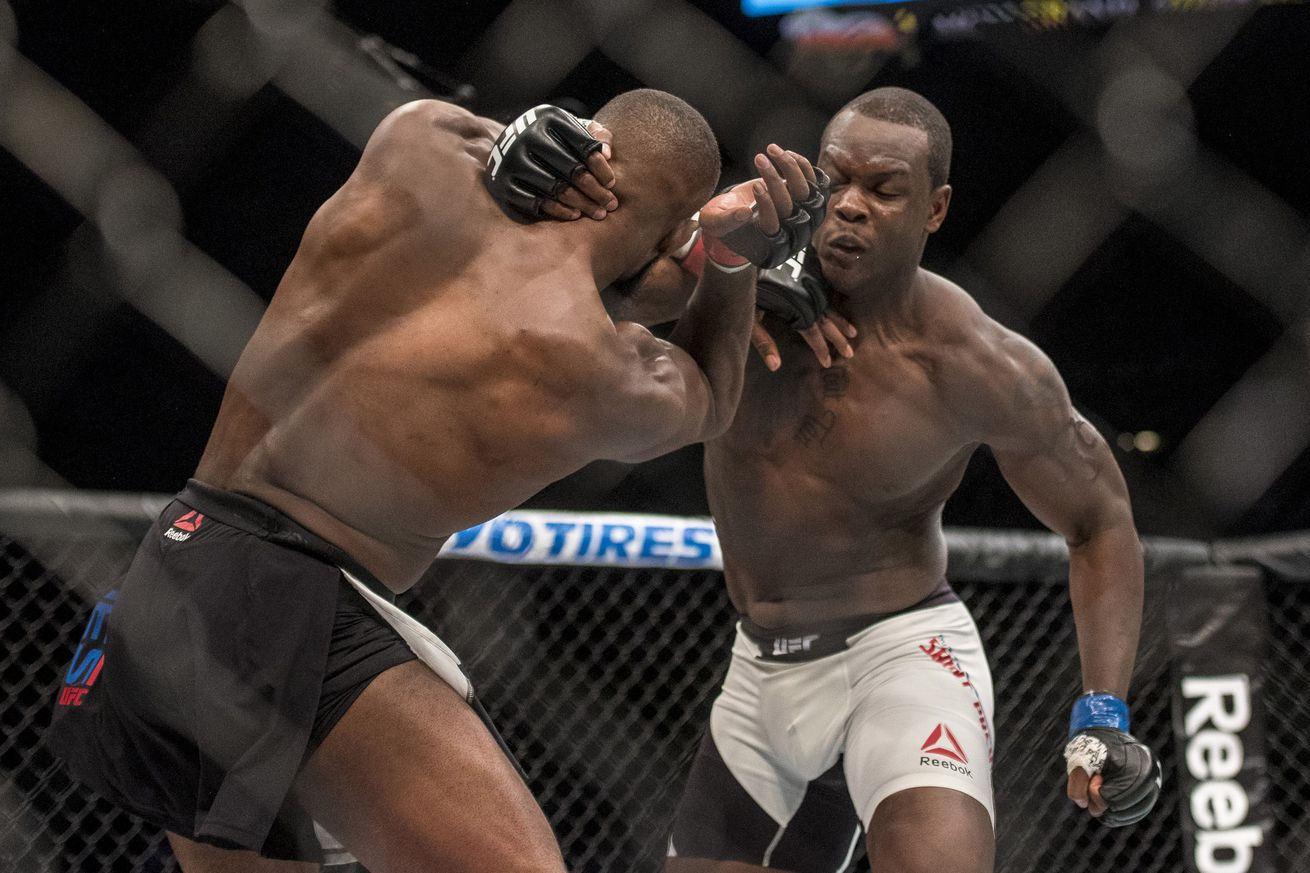 Ovince Saint Preux talks about his broken arm for the first time since UFC 197