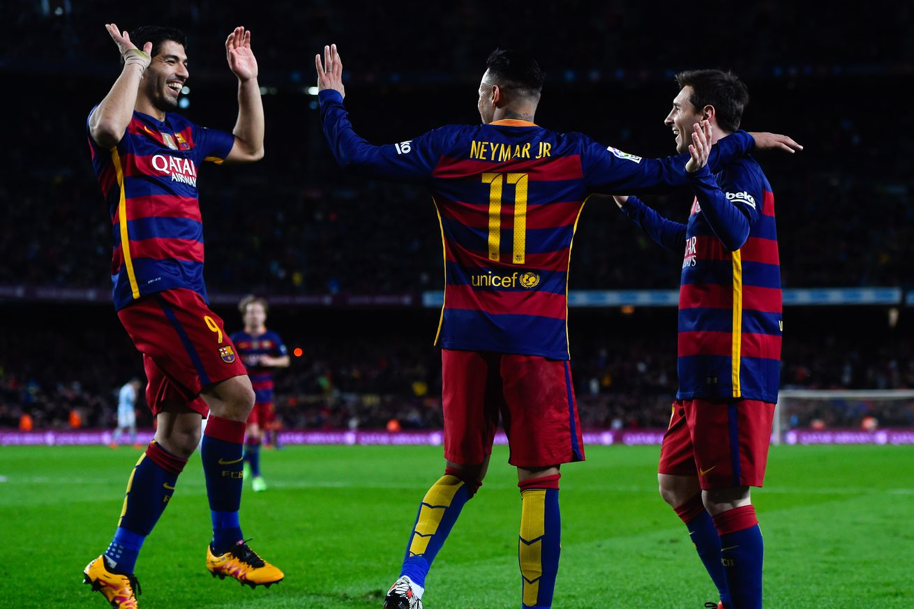 UEFA Champions League 2015/16: Masterful Lionel Messi double sinks Arsenal