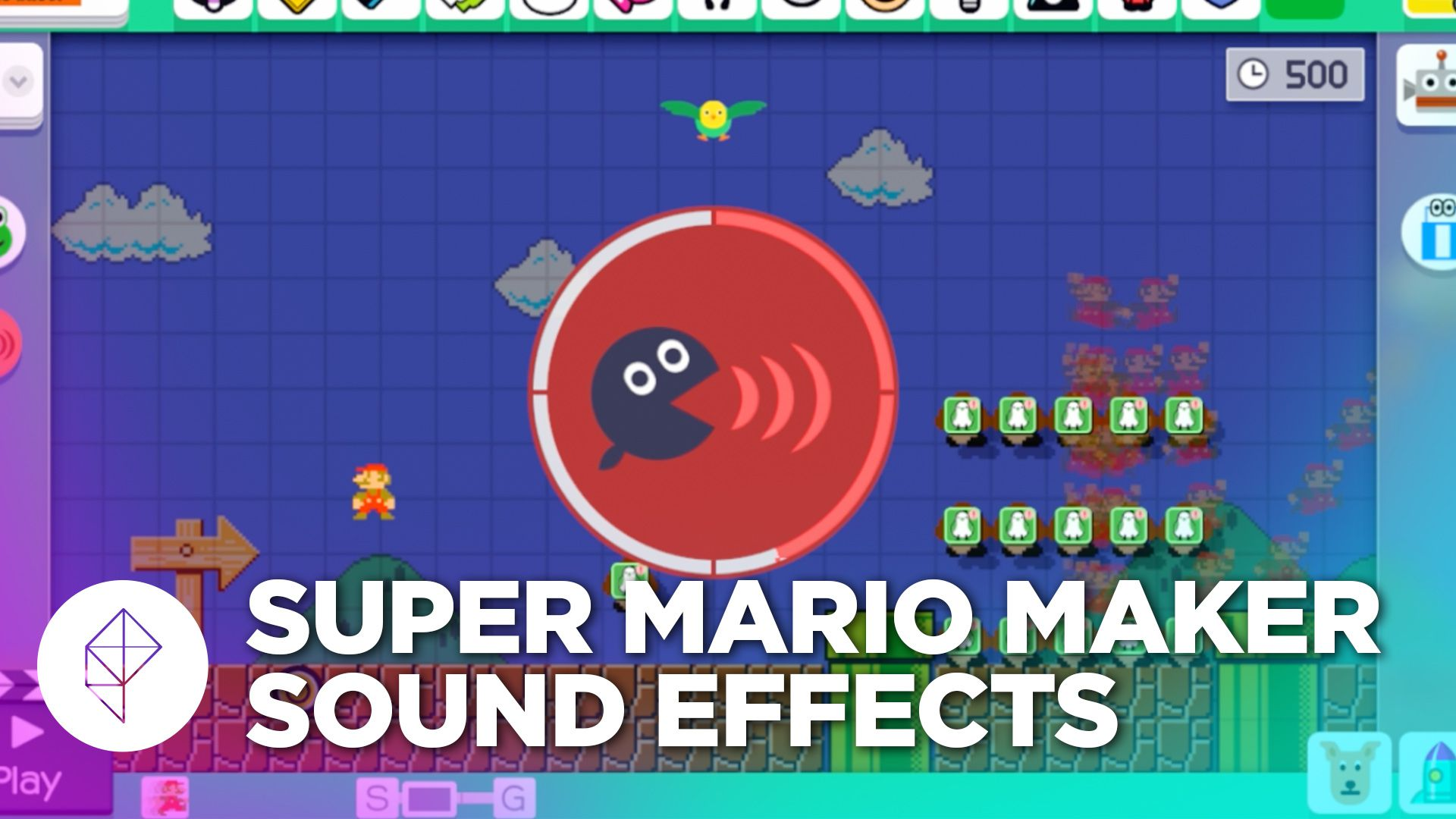 super mario maker s custom sound effects let you turn the game into