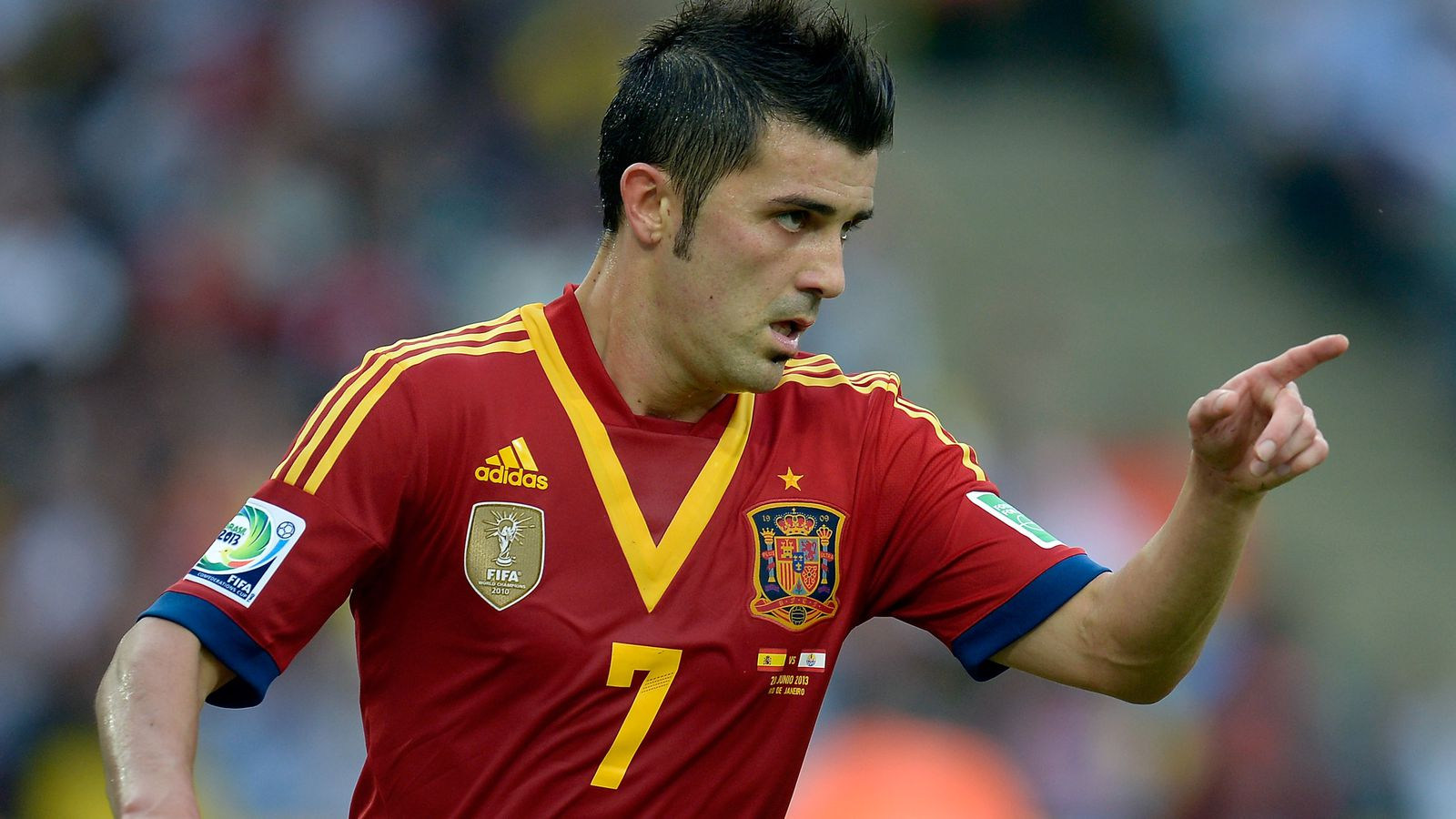 Spain vs. Tahiti, 2013 Confederations Cup: Final score 10-0, which is really unfortunate ...