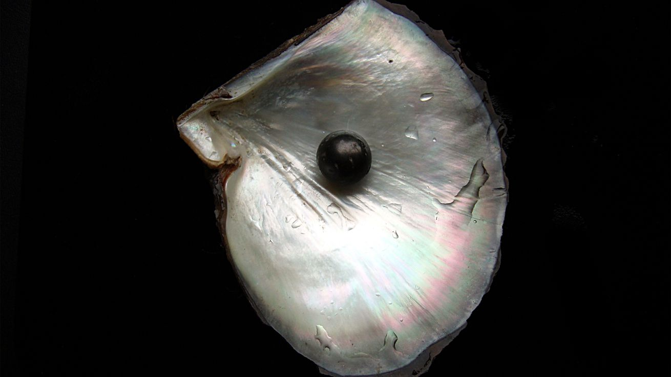 Woman bites rare pearl while dining at Italian restaurant
