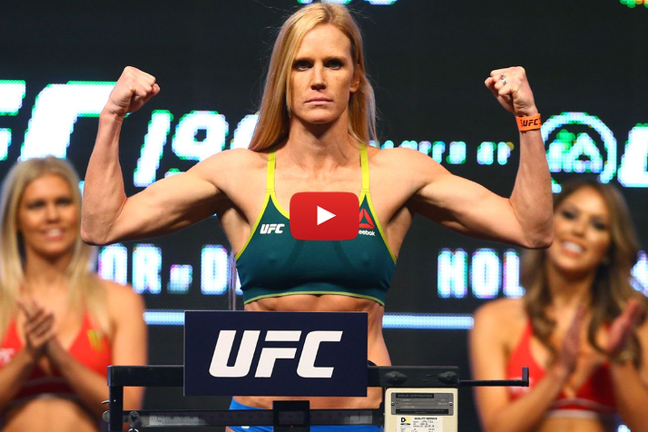 UFC on FOX 20 weigh in video, start time and results for Holm vs Shevchenko
