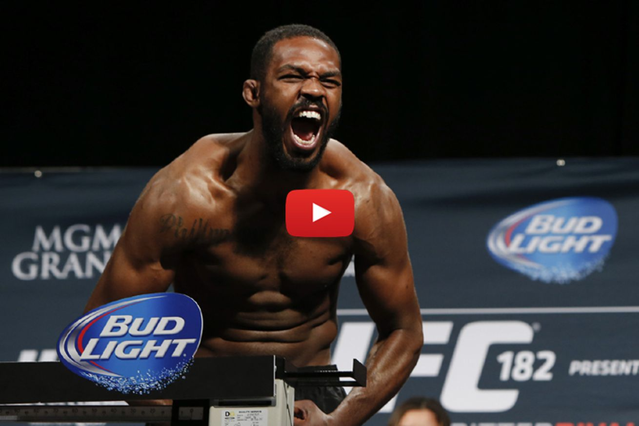 community news, Jon Jones vs Ovince Saint Preux weigh in results, full video replay for UFC 197