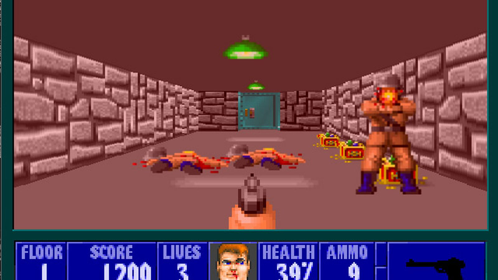 39 wolfenstein 3d 39 turns 20 years old play the free browser for Wolfenstein 3d