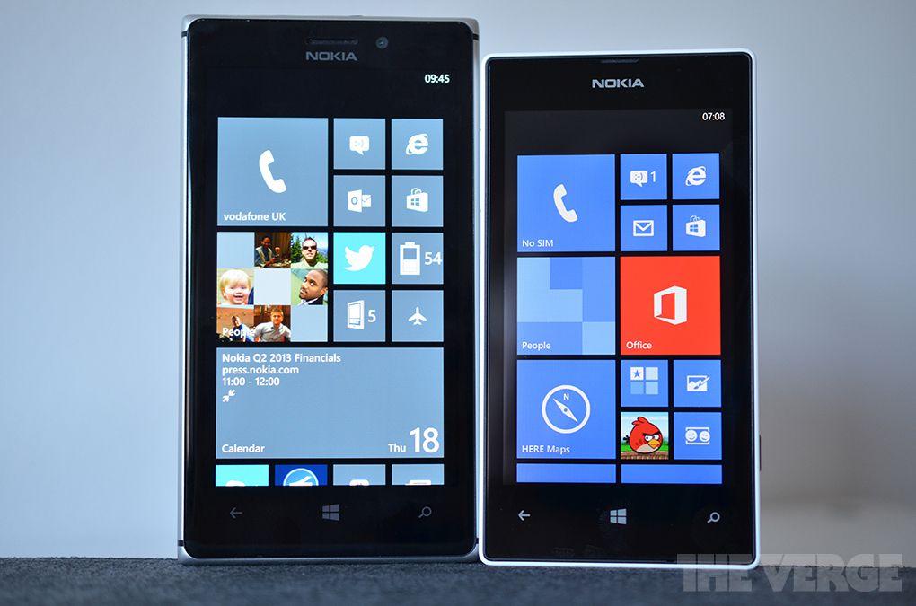 Nokia Lumia stock