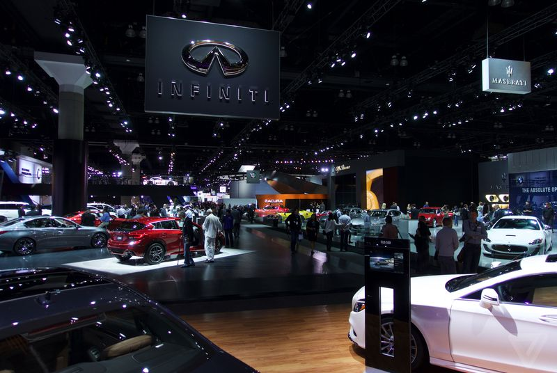 la auto show 2015 wrap up the best and worst cars on the floor omnifeed. Black Bedroom Furniture Sets. Home Design Ideas