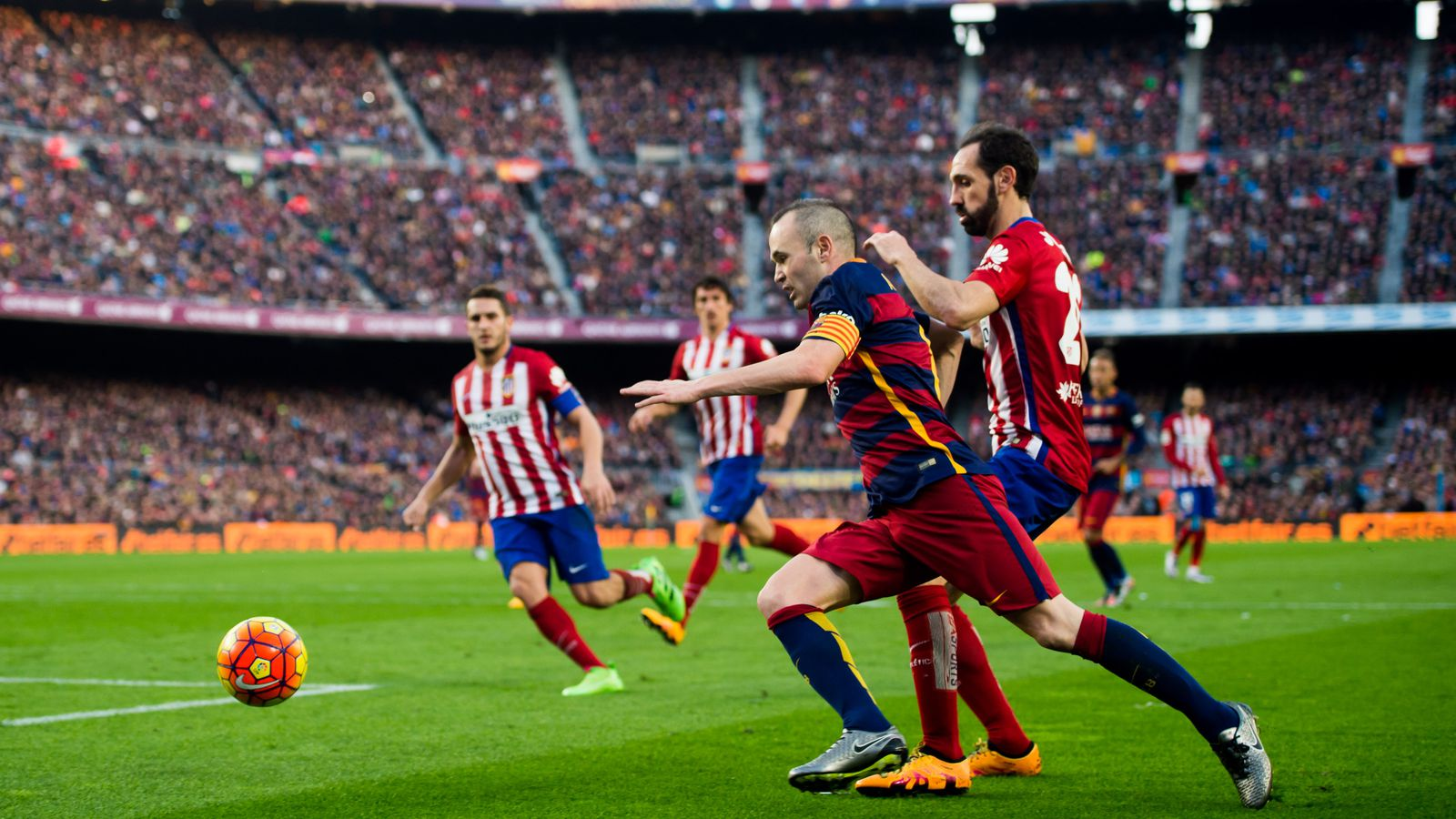 It's Barca's first trip to Atletico's new stadim