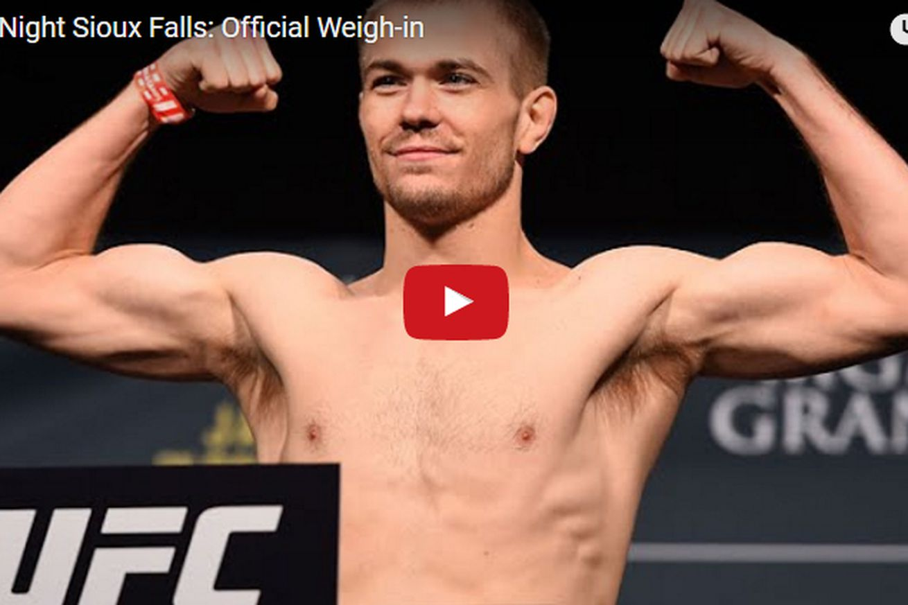 UFC Fight Night 91 weigh in video, start time, and results for McDonald vs Lineker