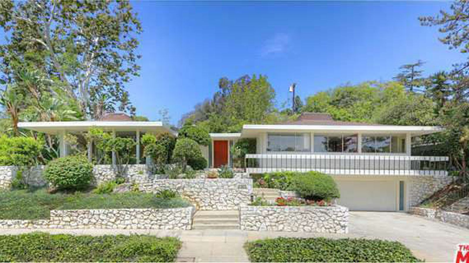 Seriously fine mid century modern for sale for first time for Mid century modern house