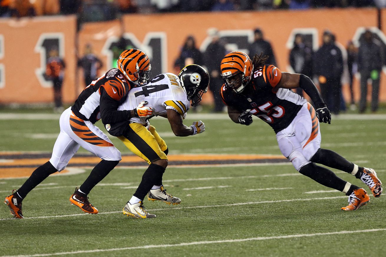 Even if Steelers WR Antonio Brown is faking a concussion, that's really not the point, Pacman