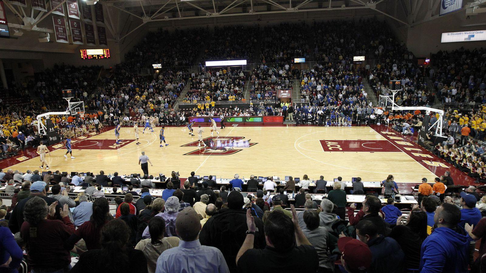 Boston College Basketball Unveils New Court Design - BC ...