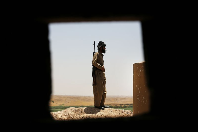 Kurdish Peshmerga Keep Fragile Peace In Kirkuk