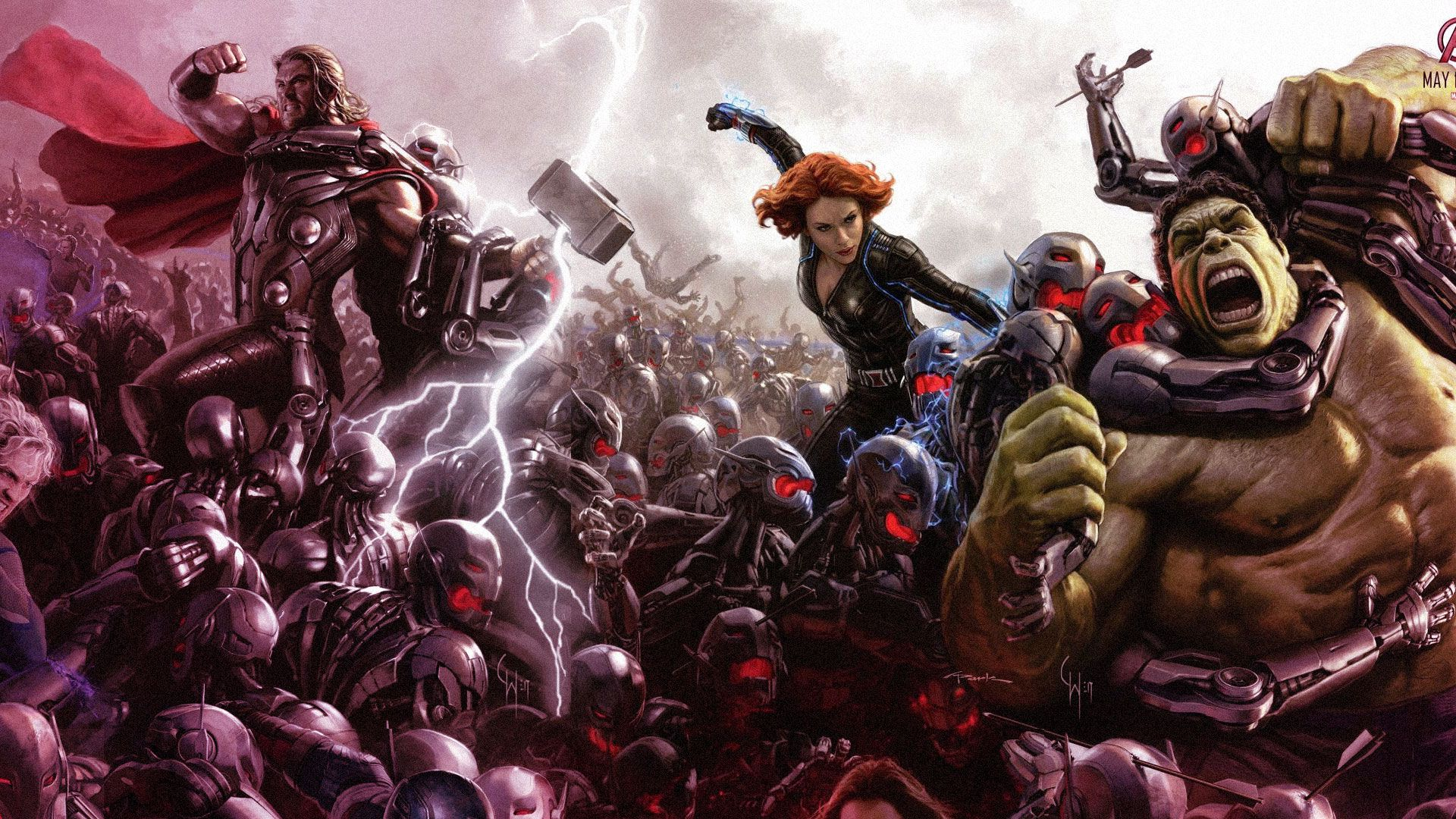 Avengers: Age of Ultron's most confusing scene and the gun