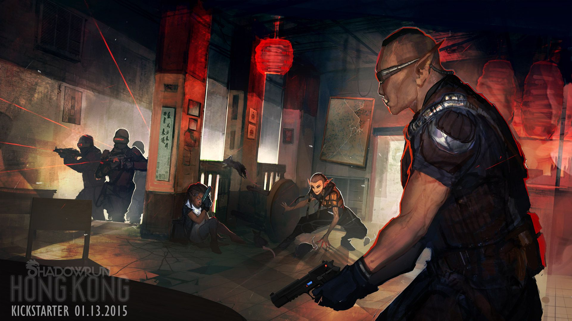 Shadowrun Returns With A Journey To Cyberpunk Hong Kong