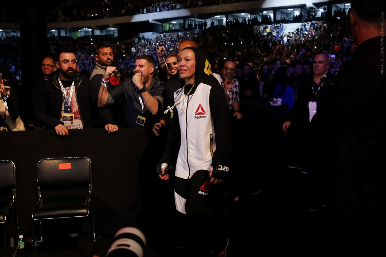 On the same night that Cris Cyborg unleashed hell, she also caged it
