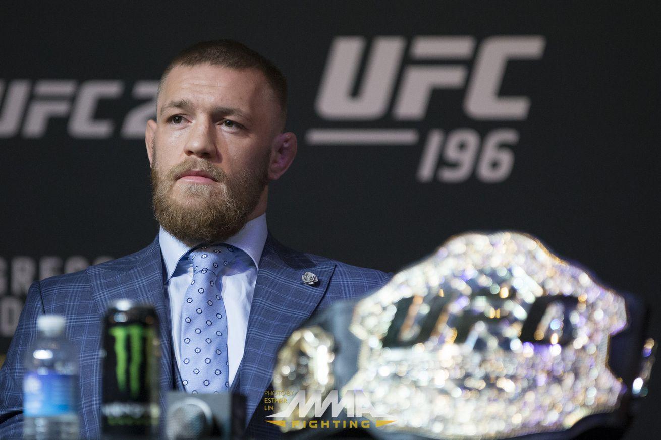 community news, UFC 196: Conor McGregor plans Featherweight return, undecided between Jose Aldo or Frankie Edgar next