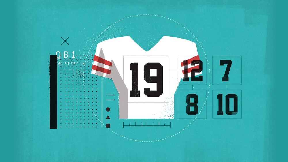 big sale 99d6e cef45 NFL players reveal the untold stories behind their jersey ...
