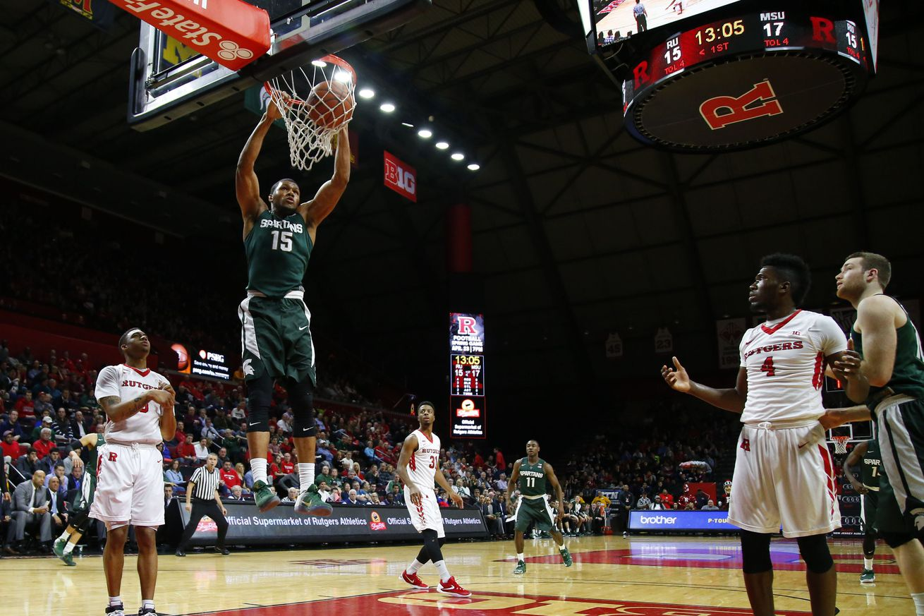 Michigan State over Rutgers