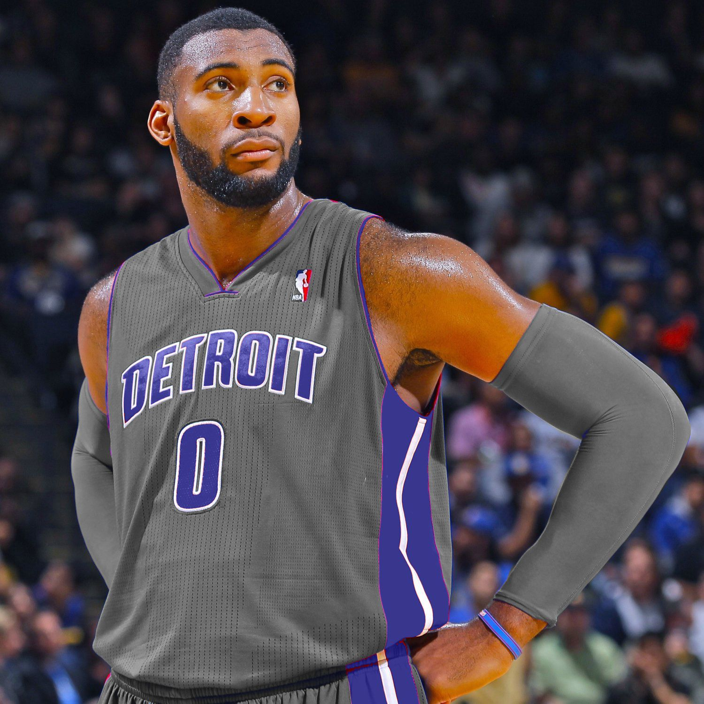 Detroit pistons alternate uniforms gray the new shade for Motor city bad beat
