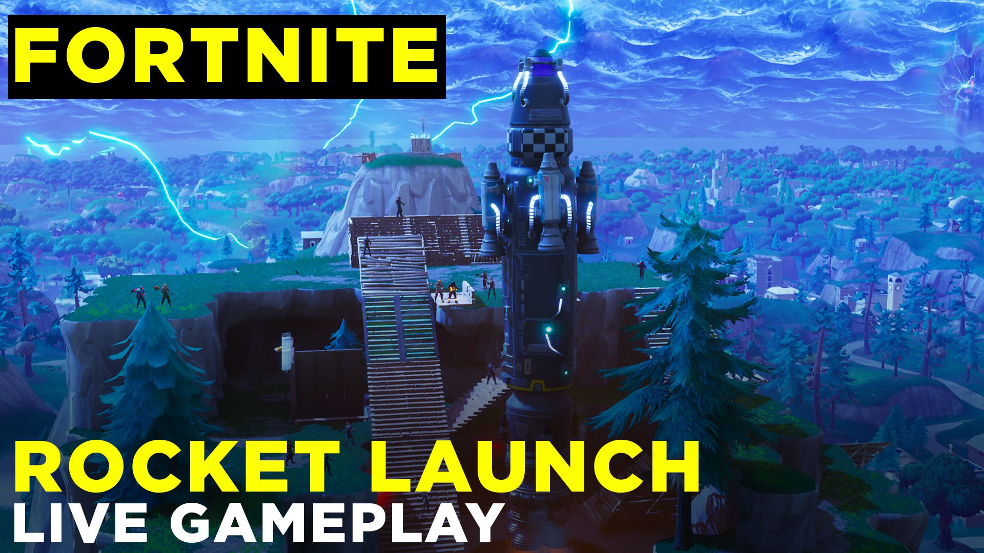 Fortnites Rocket Launch Created A Dimensional Rift In The