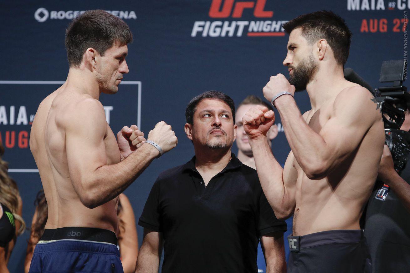 community news, UFC on FOX 21 Results: Maia vs. Condit