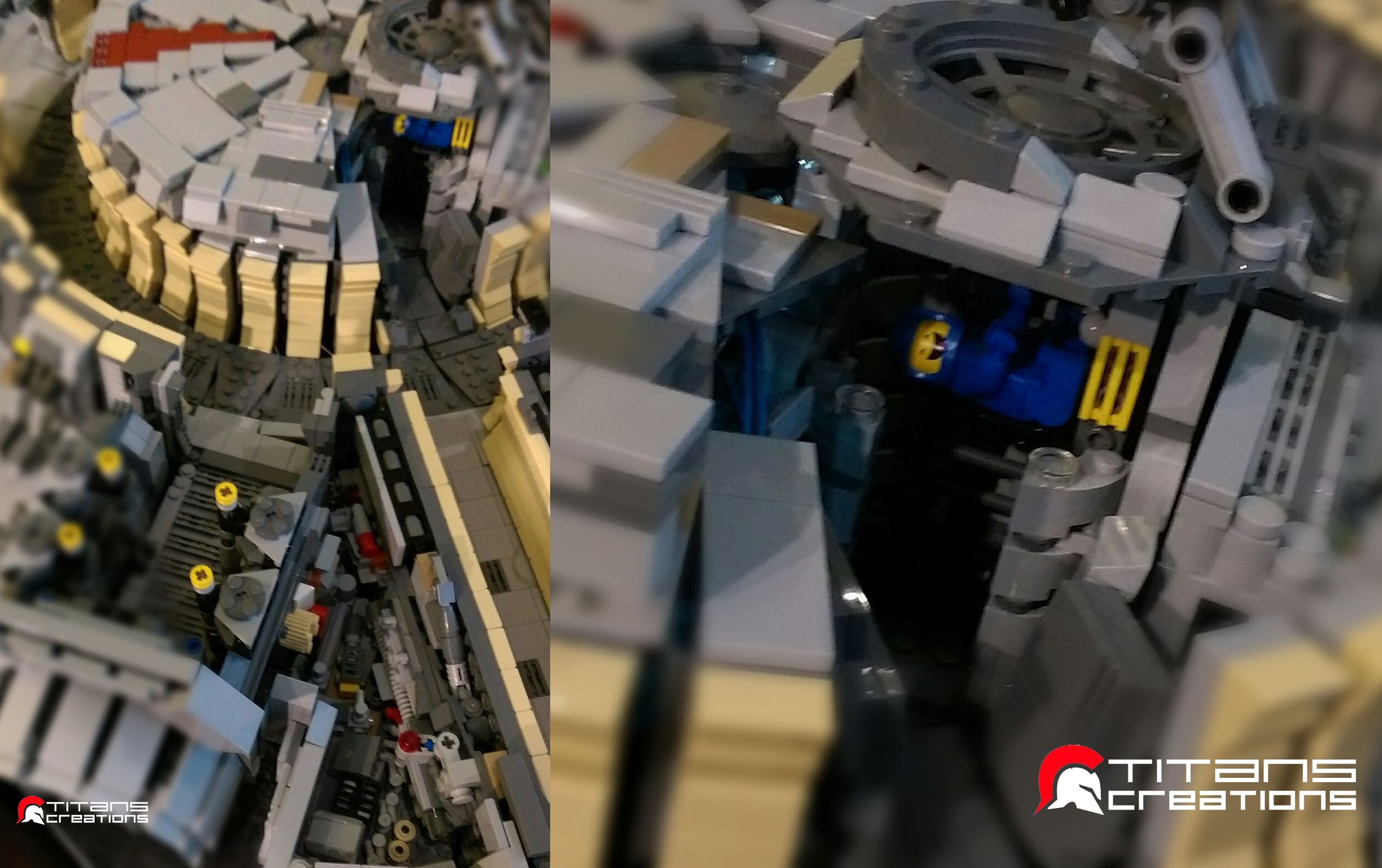 There s an incredible amount of detail in this 10 000 brick lego