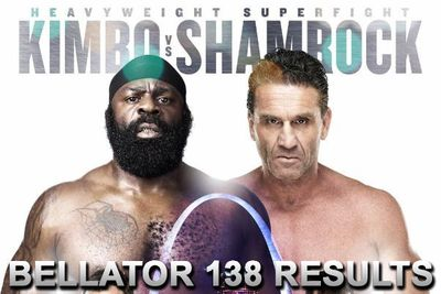 Bellator 138 results: Live streaming play-by-play updates for 'Kimbo vs Shamrock' online