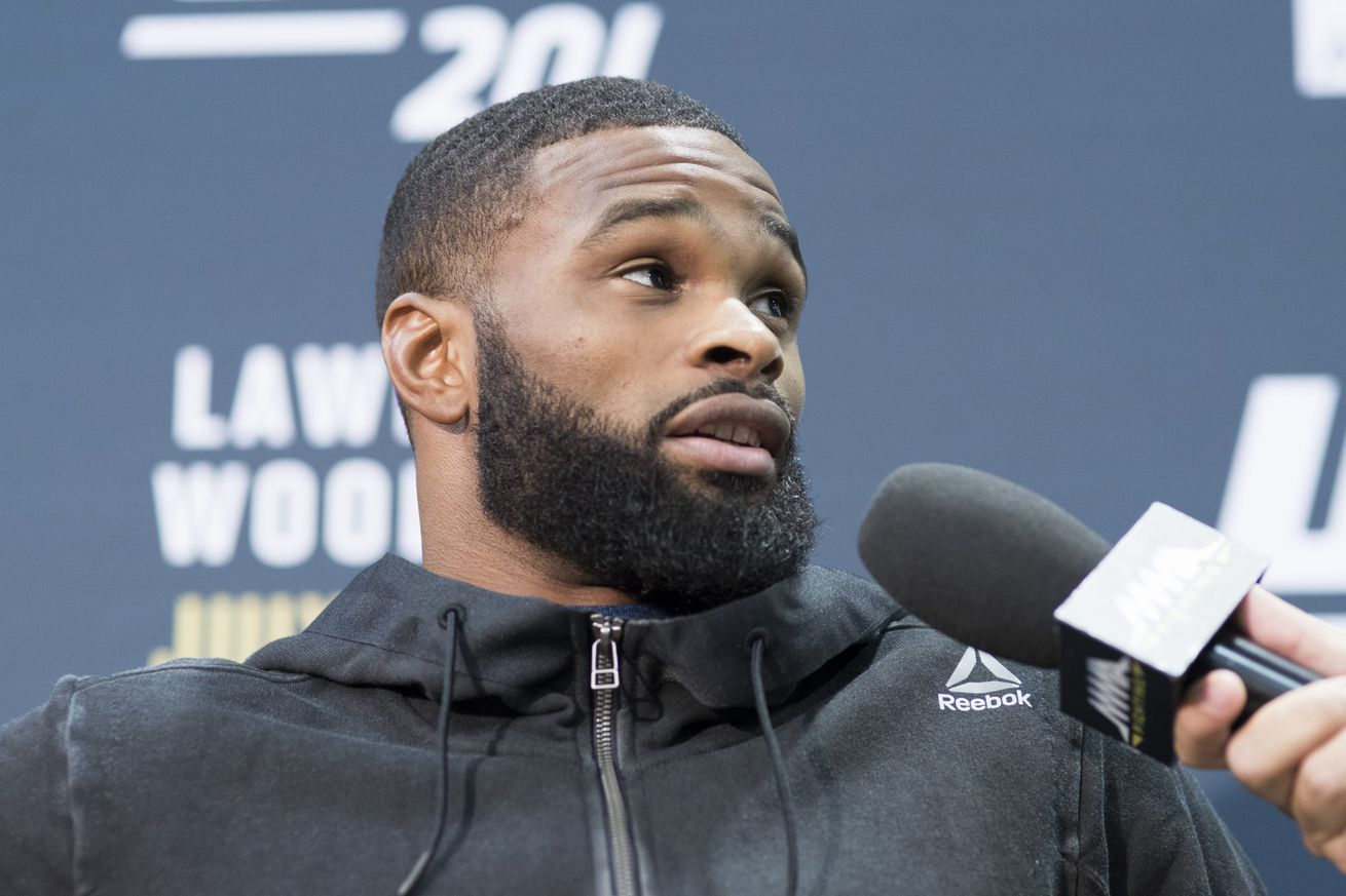 Tyron Woodley says he 'didnt have the financial incentive to heavily promote UFC 201
