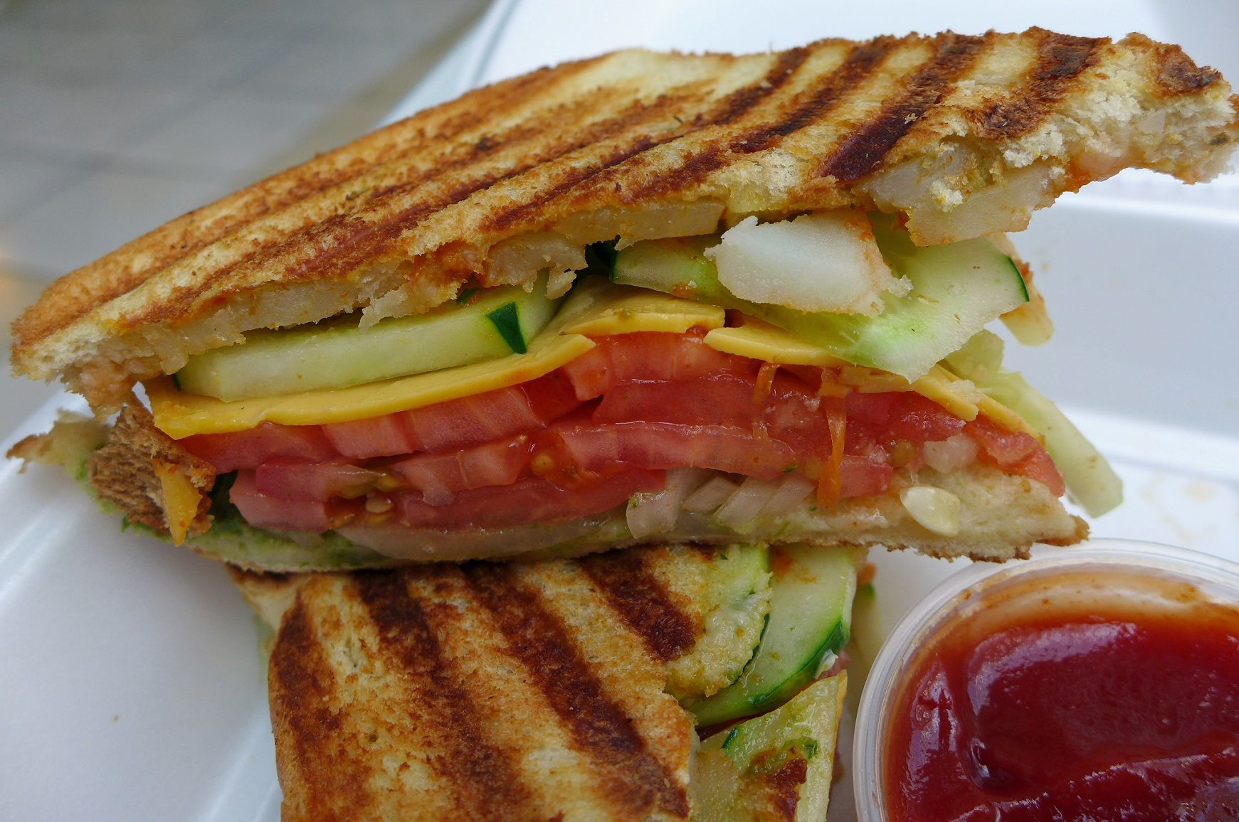 bombay sandwich one late summer day bleary eyed from the heat we ...