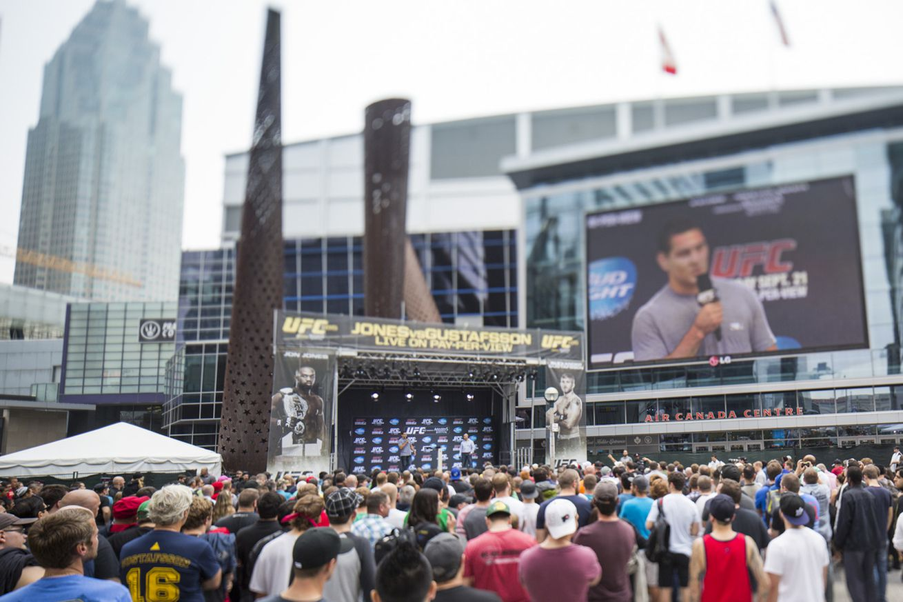 UFC releases schedule for rest of 2016, including UFC 206 in Toronto
