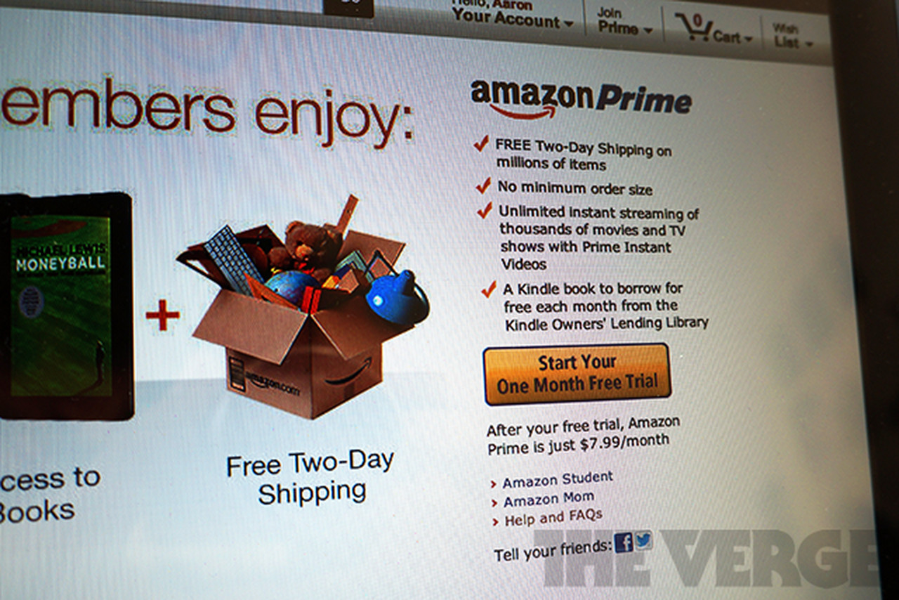 how to cancel amazon prime trial 2012