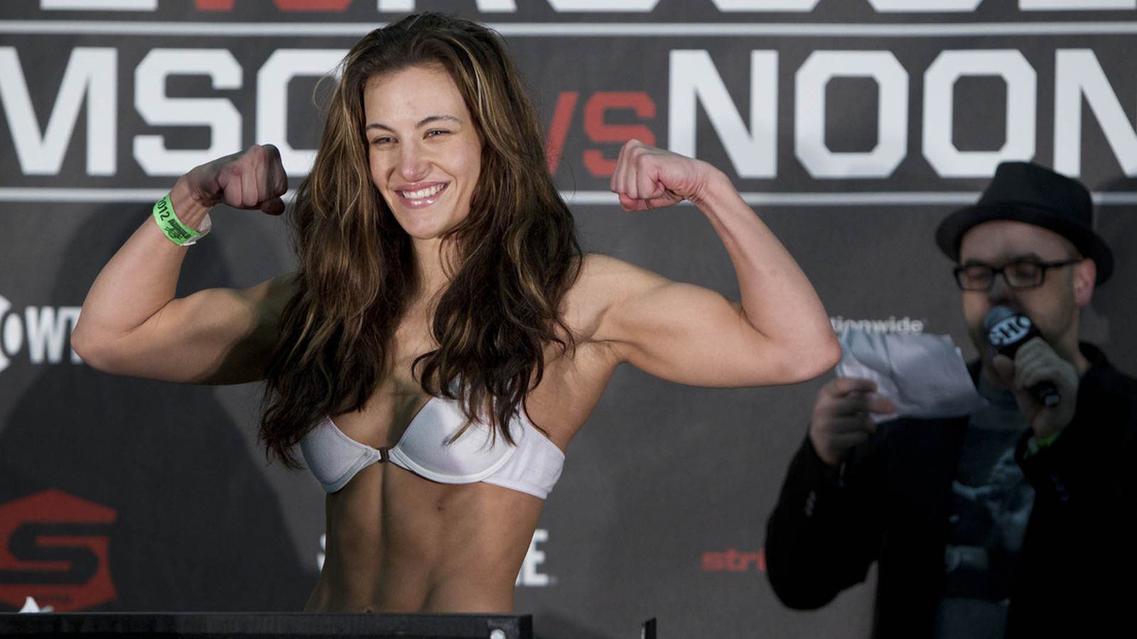 Miesha tate nude pics in espn magazine body issue coming july 12