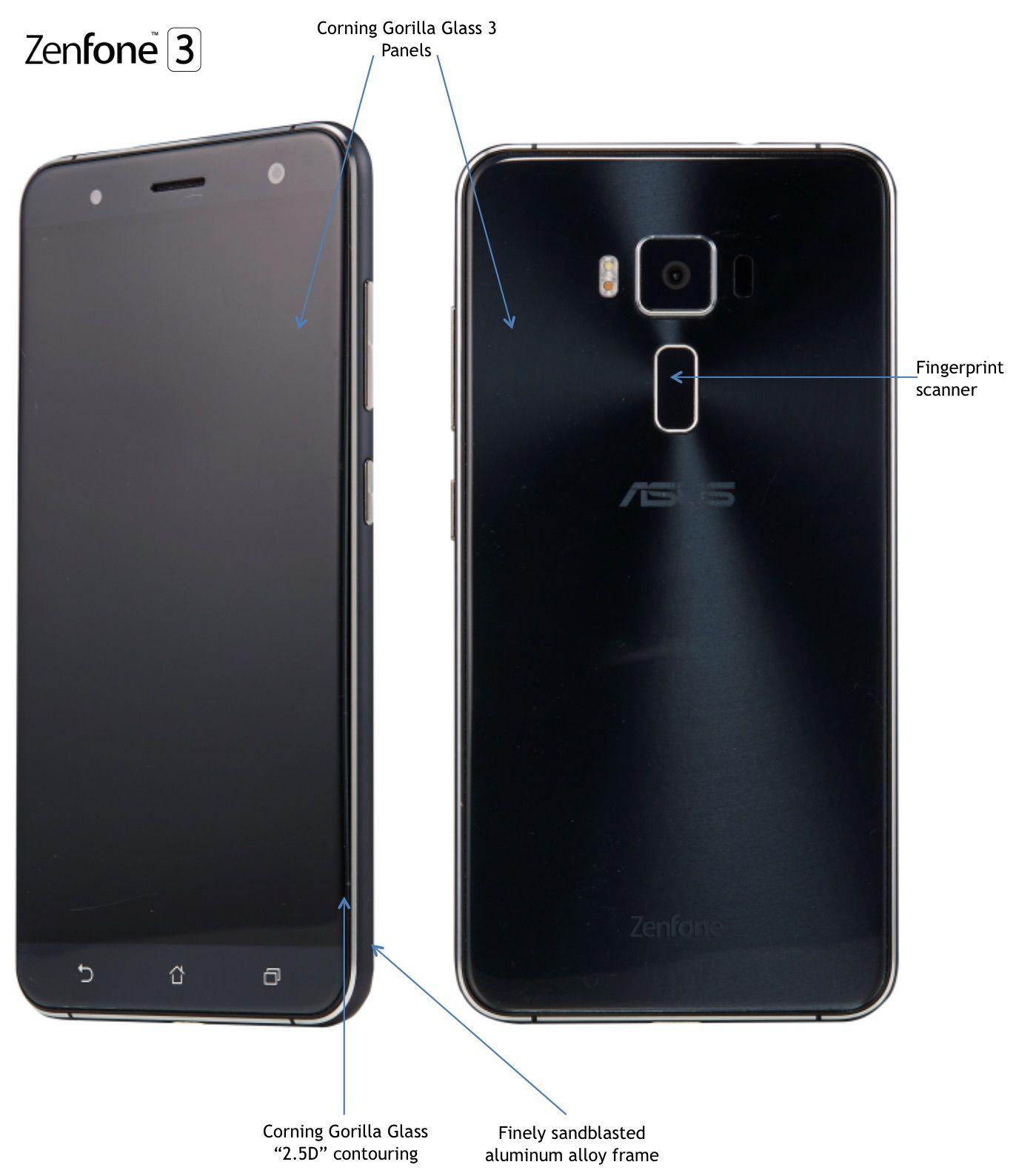 Asus Announces Zenfone 3 Alongside Premium Deluxe And