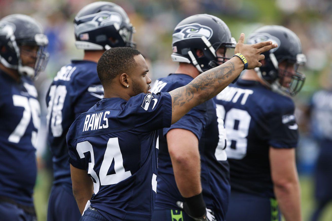 Seahawks will proceed slowly with Rawls