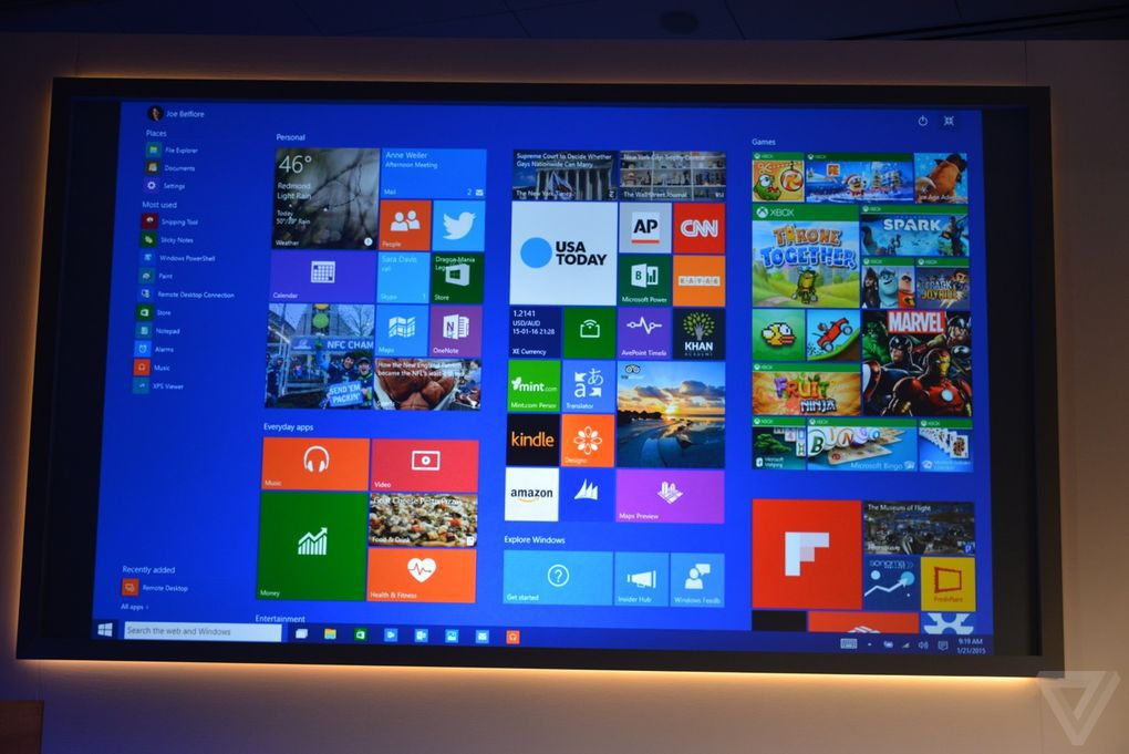 The 9 biggest announcements from microsoft 39 s windows 10 for Microsoft win10