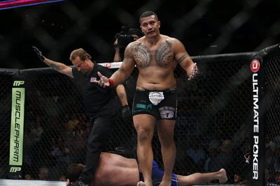 UFC heavyweight Soa Palelei to retire from mixed martial arts