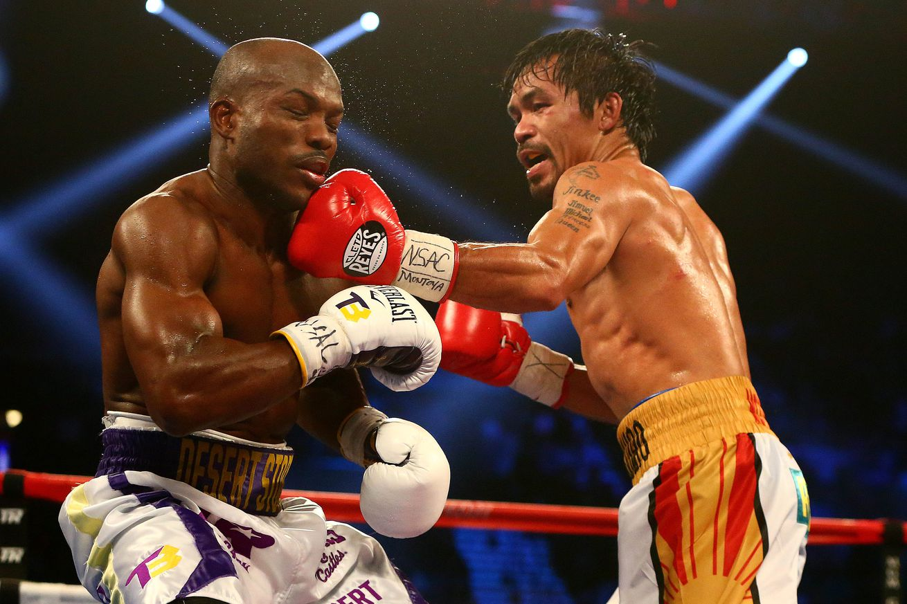 community news, Manny Pacquiao drops Timothy Bradley twice, earns unanimous decision victory